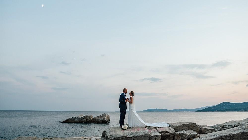 Stavros & Mimi A wedding from America to Greece