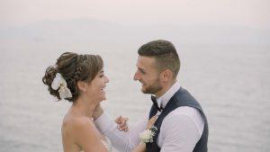 καλοκαιρινό βίντεο γάμου στην Καβάλα
